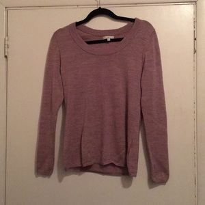 Lavender Crew Neck Sweater